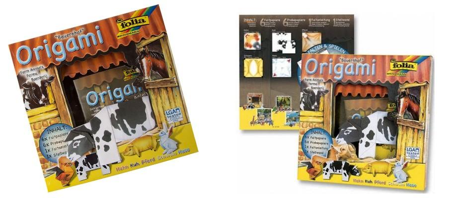 Çocuklara Özel Eğlenceli Origami Seti