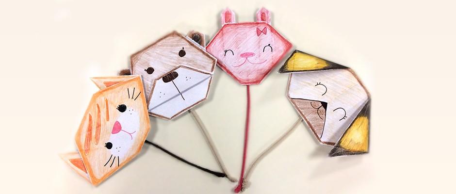 Origami: Hayvan Yüzleri
