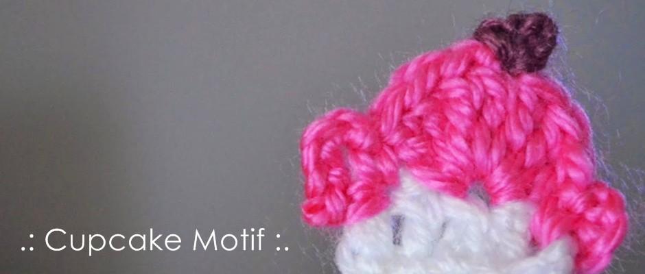 Örgü Cupcake Motifi