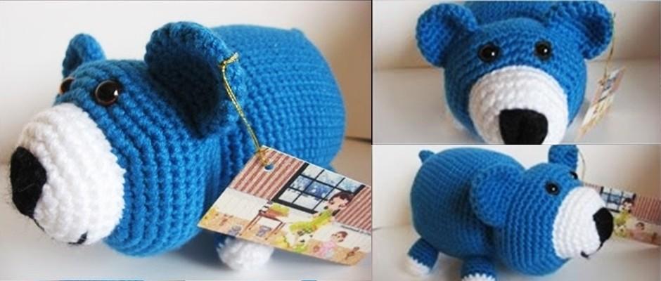 Amigurumi: Mavi Ayıcık