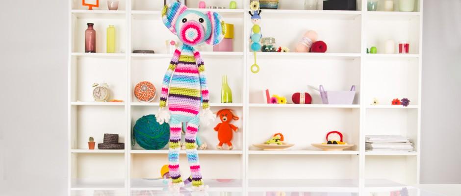Amigurumi: Çok Renkli Maymun