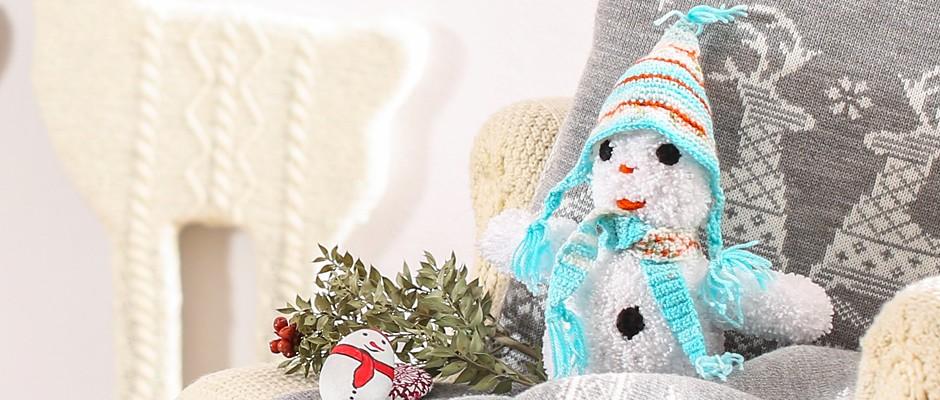 Amigurumi Kardan Adam Yapımı