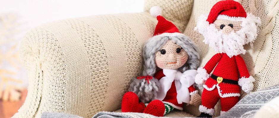 Amigurumi Noel Anne&Noel Baba Tarifi