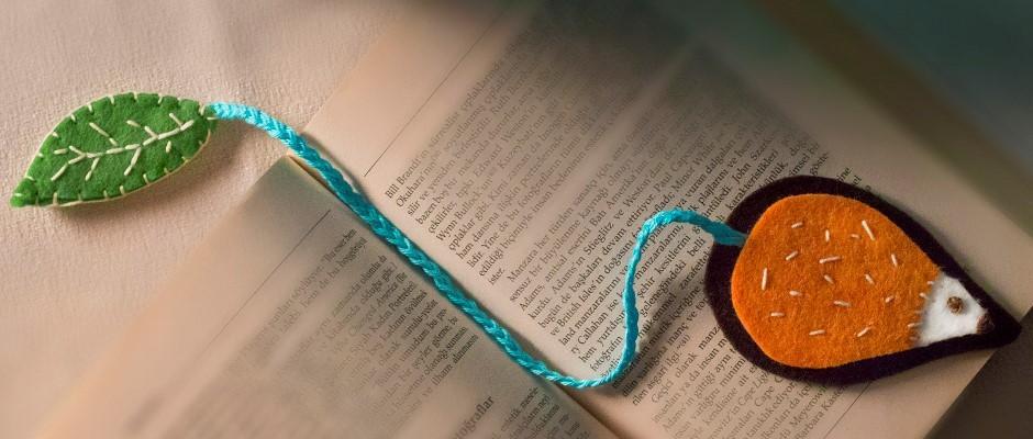 Keçe Kumaş Ile Kitap Ayracı Yapımı Hobium Atölye