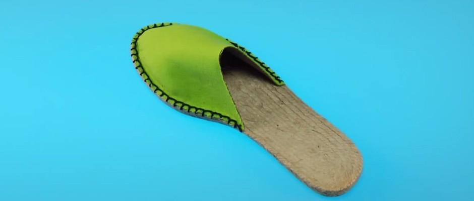 Yazlık Espadril Ayakkabı – Terlik Yapımı