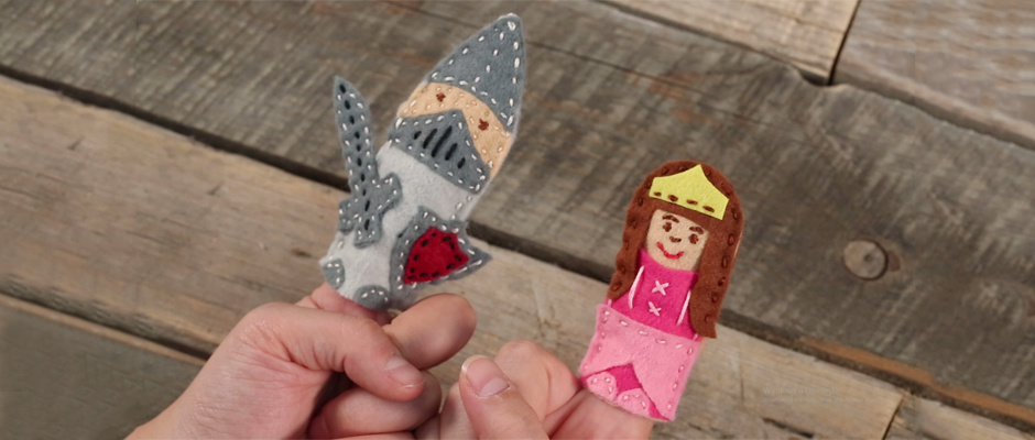 Anchor Craft Kit Prenses Parmak Kukla Yapımı