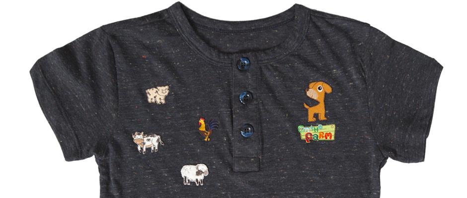T-Shirt Üzerine Aplike Çalışması