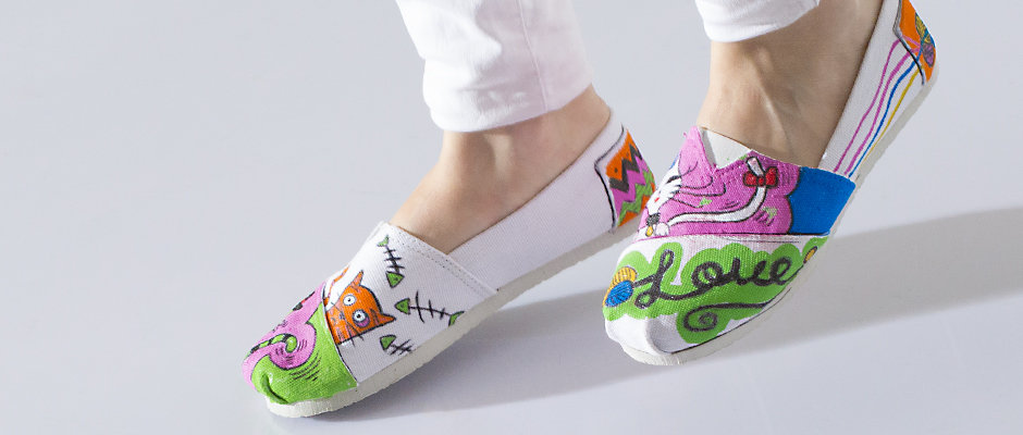 Bez Ayakkabı Boyama Çalışması