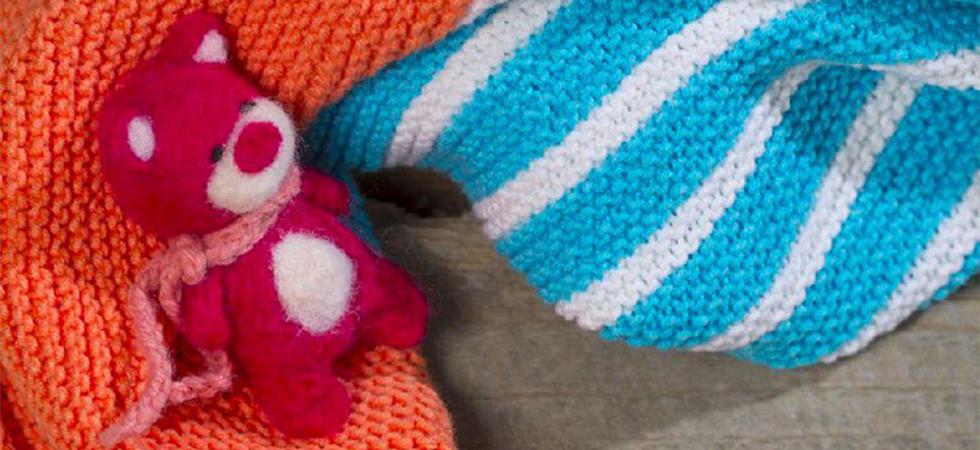 Yarnart Jeans İle Bebek Battaniyesi Yapımı