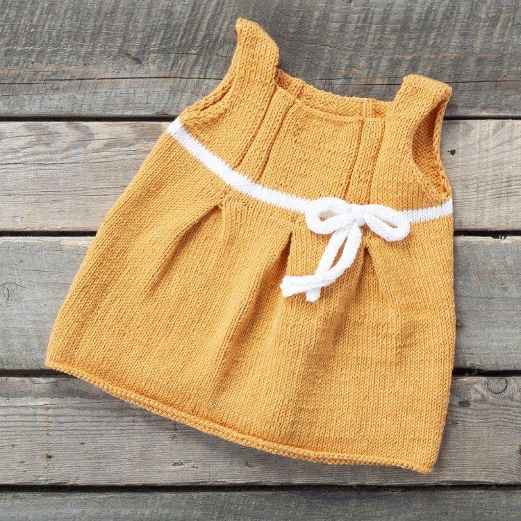 Pilili Bebek Elbisesi Yapımı