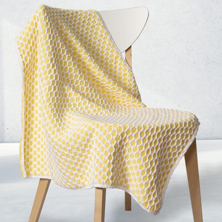 Petek Modelli Battaniye Yapımı