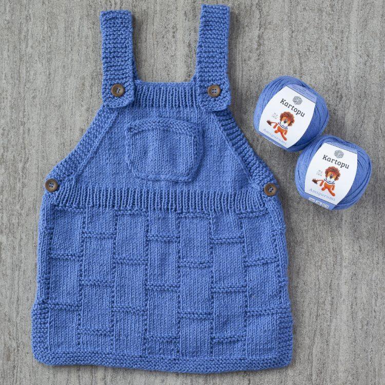Cepli Bebek Elbisesi Yapımı