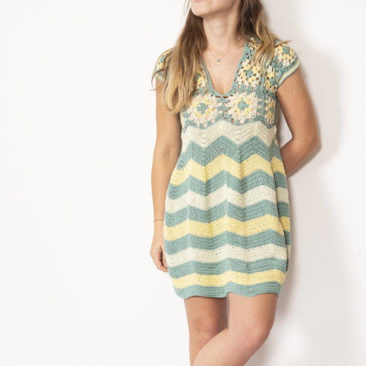 Zigzag Desenli Elbise Yapımı
