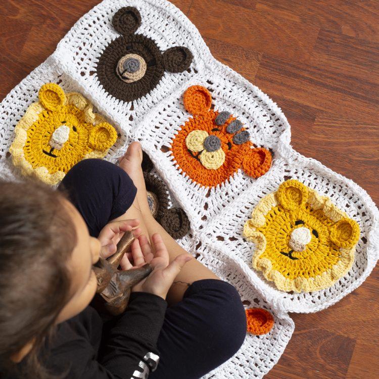 Hayvan Figürlü Battaniye Yapımı