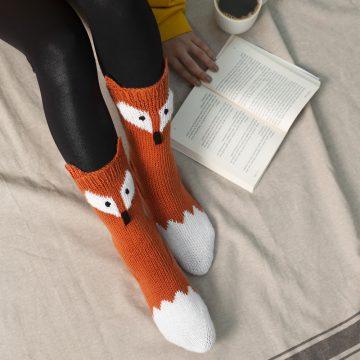 Tilki Çorap Yapımı